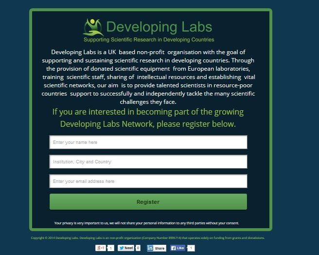 developing labs
