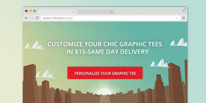 chic-tees-landing-page