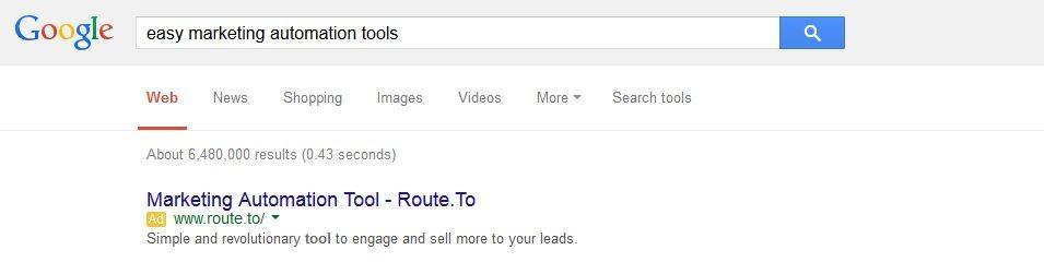 route ppc ad