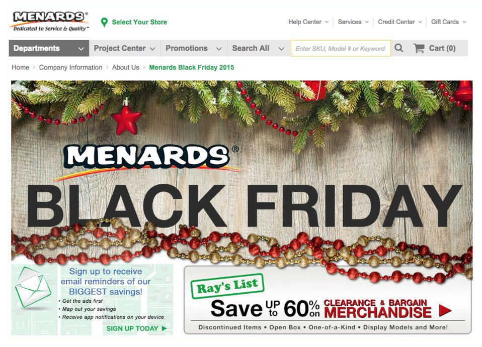 This picture shows how to use price discounts on Black Friday landing pages to increase conversions.