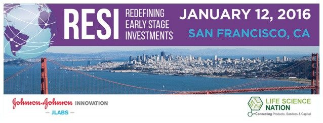 This picture shows how the RESI Conference uses the San Francisco skyline as its event landing page image.