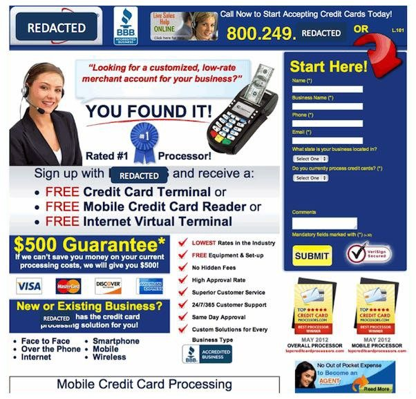 This picture shows how a messy landing page can decrease conversions and sales.
