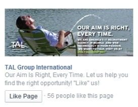 This picture shows how a poorly chosen picture can hurt your Facebook ad clickthroughs and ROI.