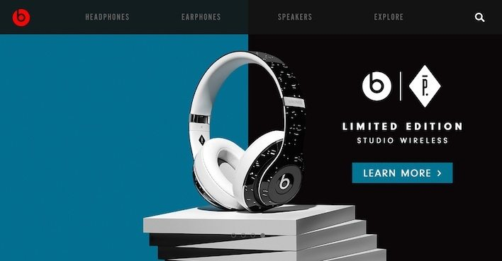 This picture shows how Beats by Dre uses the scarcity trigger to increase sales.