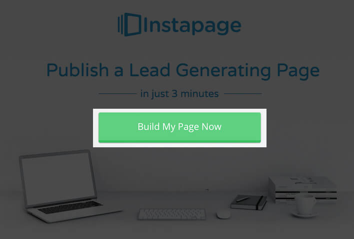 Instapage Button Copy Example