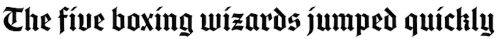 This picture shows marketers how to add Blackletter fonts in Adobe Typekit.