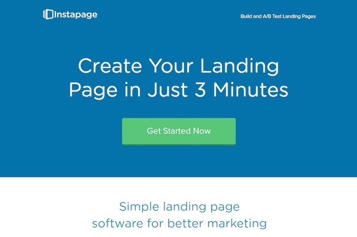 This picture shows marketing agencies how to display a USP on their landing page to generate new clients.