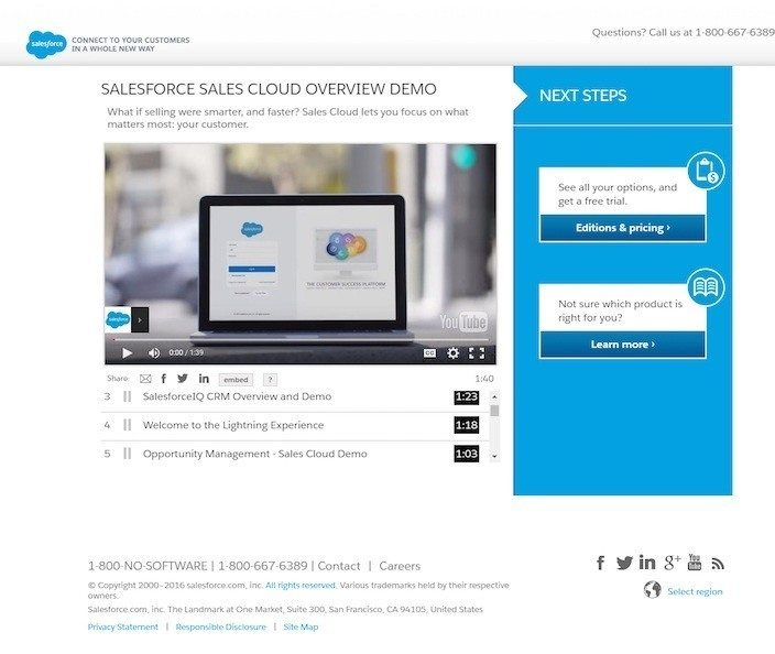 The Medium Is in the Message: 20 Video Landing Page Examples