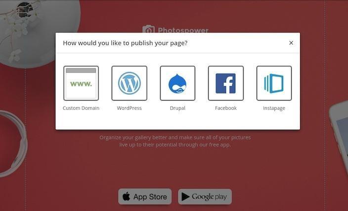 make a like page