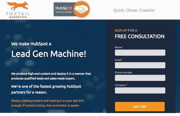 25 of the Best Landing Pages on the Web