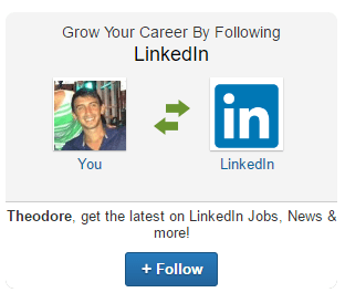 This picture shows marketers how to use LinkedIn follow ads for lead generation.