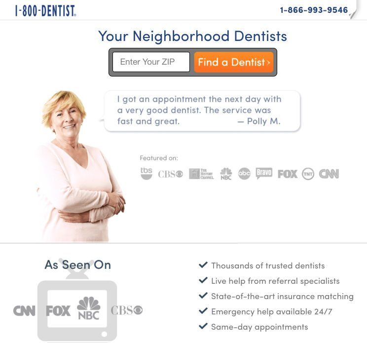dentist-medical-landing-page