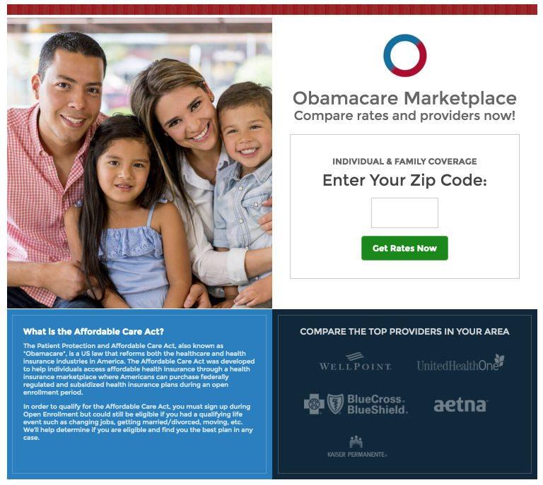 medical-landing-pages-obamacare