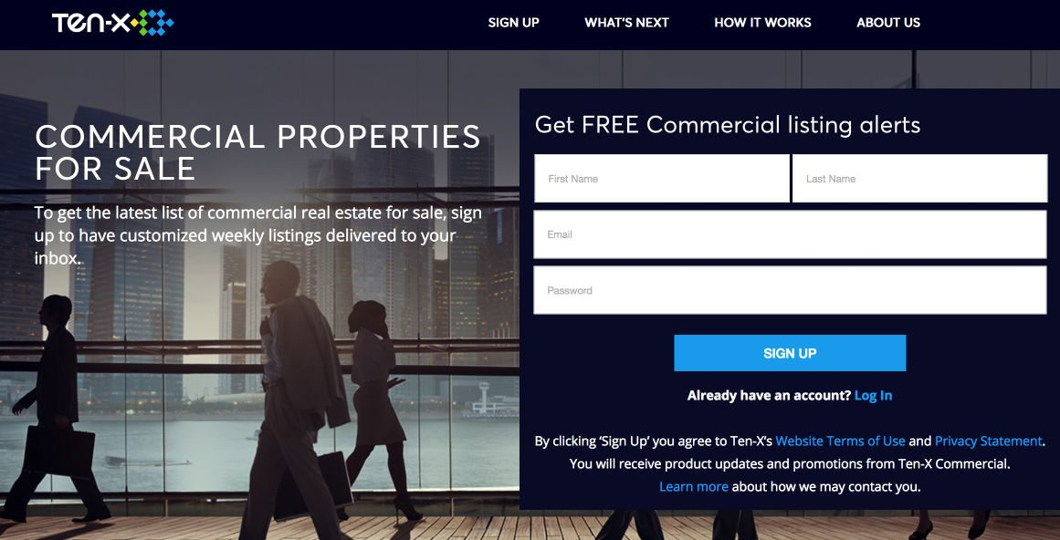 7 examples of how successful real estate marketers use landing pages