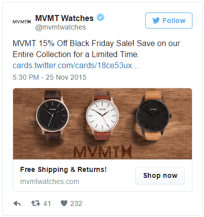 This picture shows marketers how to run a website clicks campaign with Twitter ads.