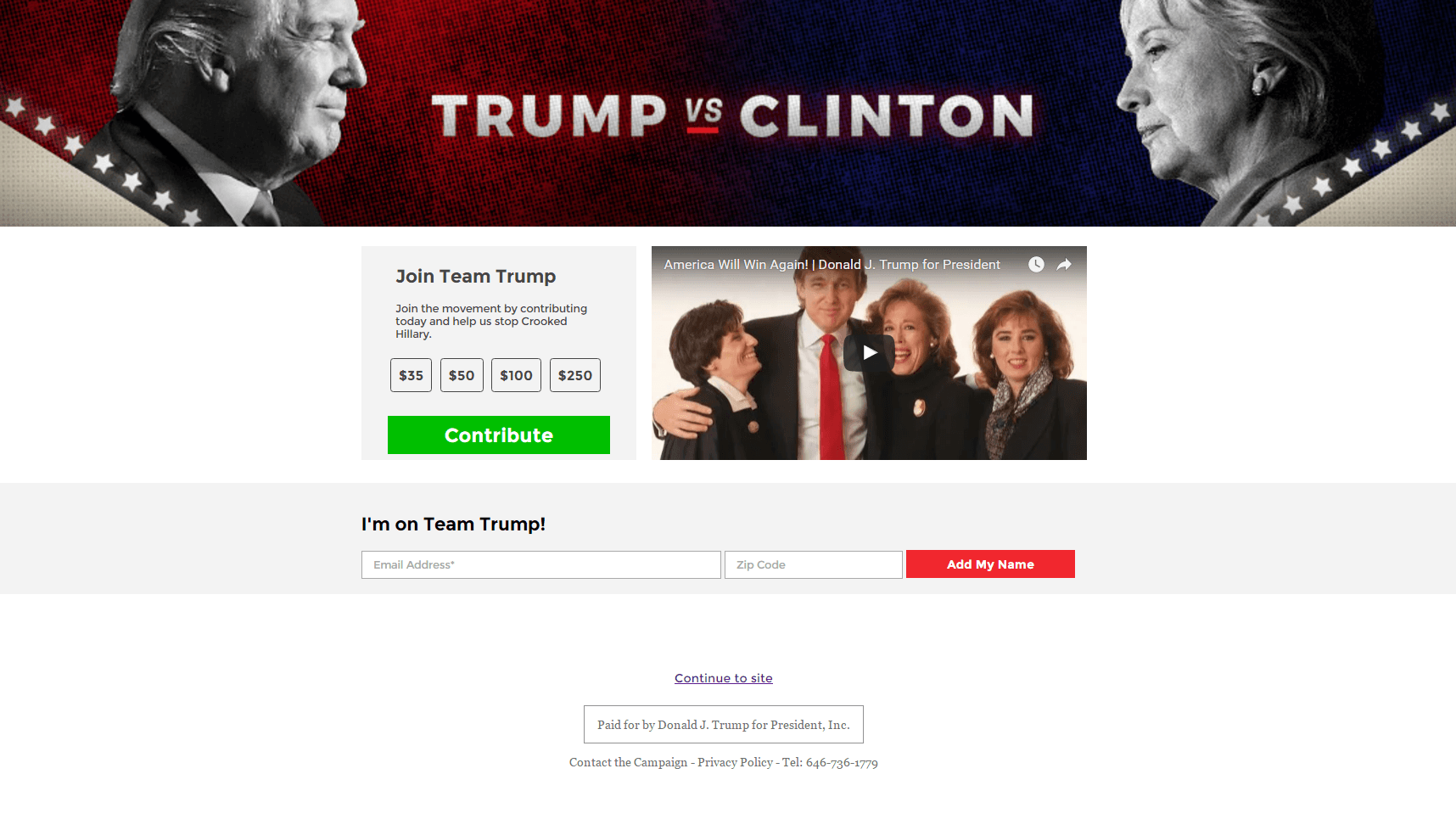 presidential-campaigns-trump-video-donation-page