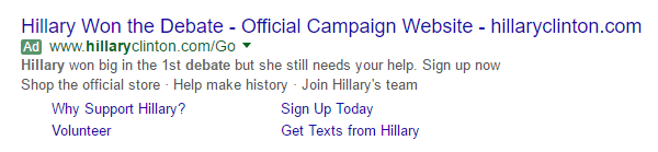 presidential-debate-message-match-adwords