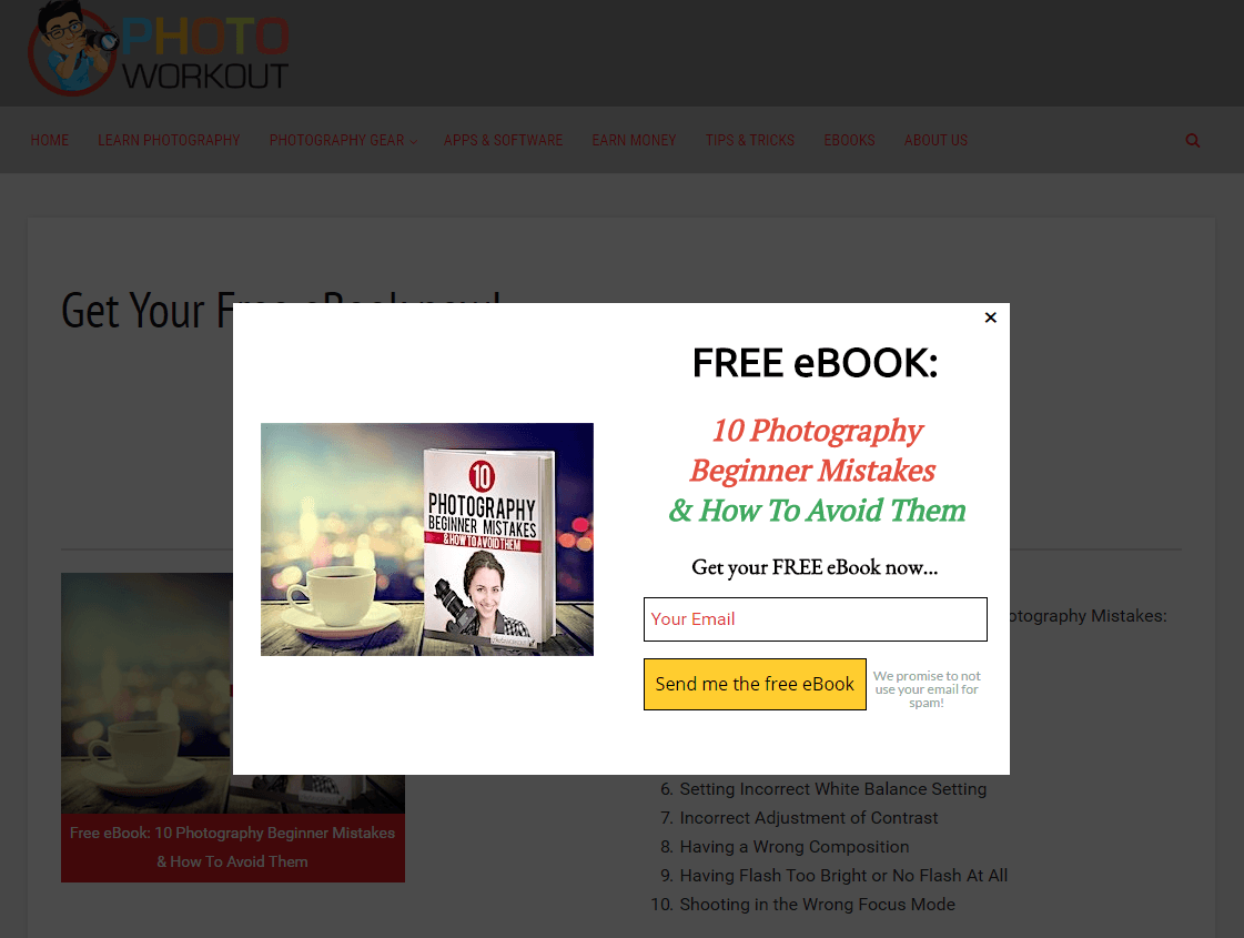 20 ebook landing page examples used by today s best brands