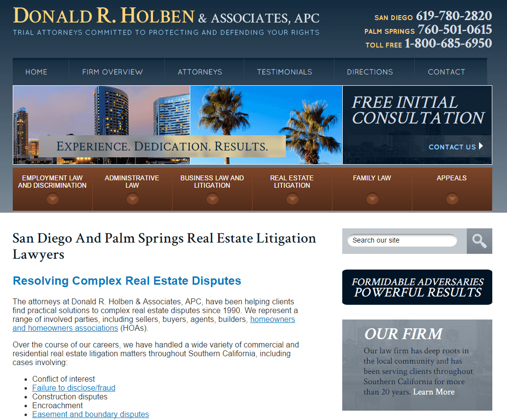 This picture shows why real estate lawyers should use legal landing pages for PPC ads to maximize ROI.