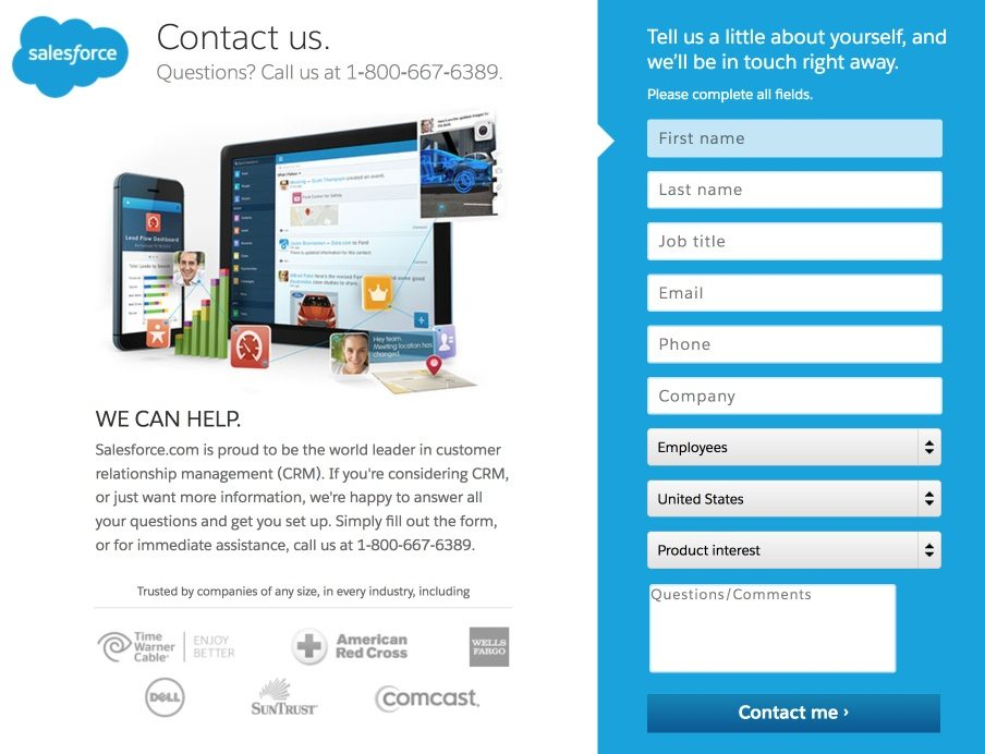 8 Places To Include Your Landing Page Link On Your Website