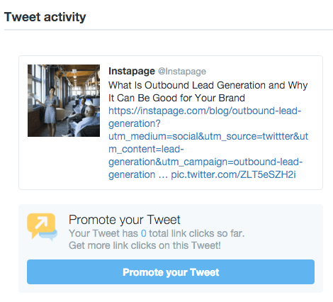 how to delete a promoted tweet