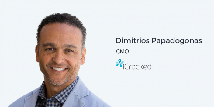 Dimitrios Papadogonas, CMO of iCracked on Authentic Brand Marketing