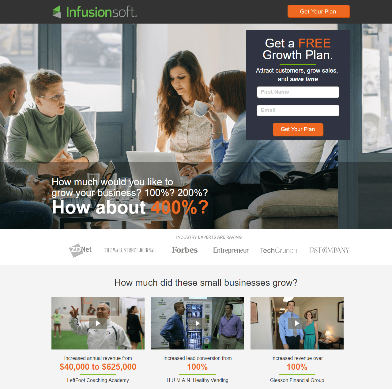 7 Infusionsoft Landing Pages That Establish A Great First