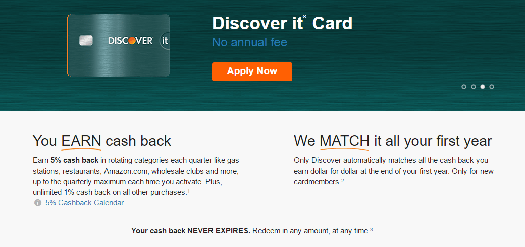 This picture shows marketers how Discover card uses an optimized Tumblr landing page to convert visitors into customers.