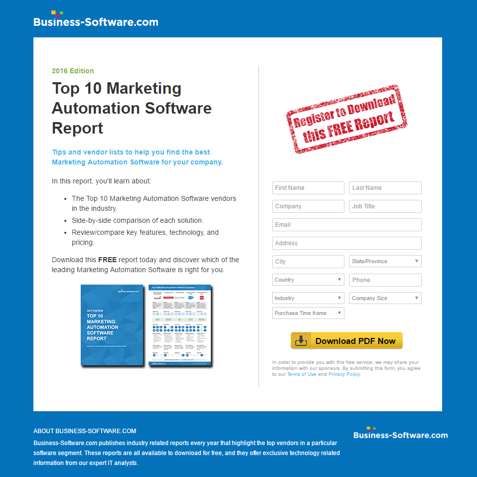 Using Marketing Landing Pages to Move Prospects Through Your Funnel
