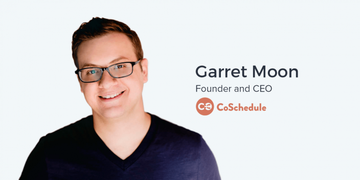 Garrett Moon, CEO and Founder of CoSchedule on Blue Ocean Strategy