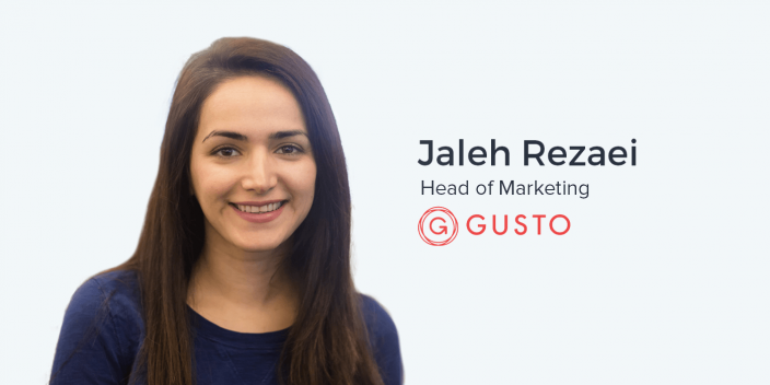 Jaleh Rezaei, Head of Marketing at Gusto on Scaling Paid Acquisition