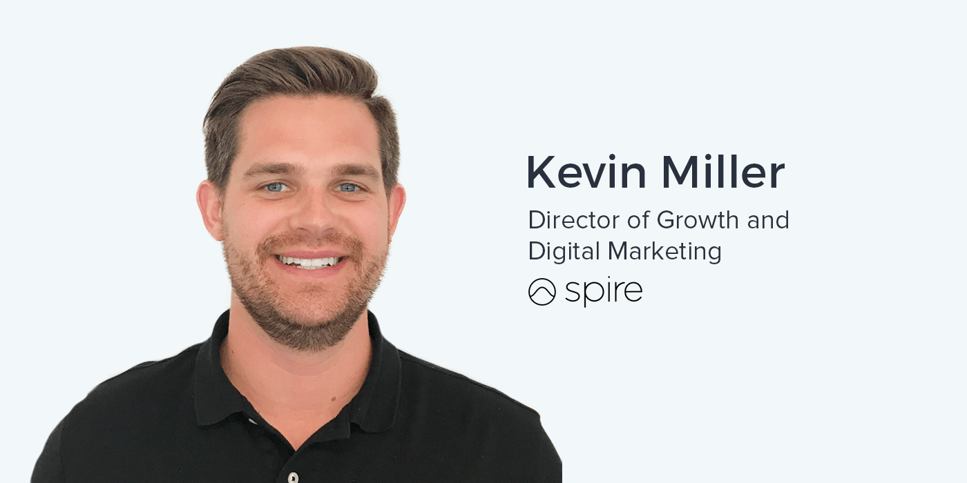 kevin miller  director of marketing at spire on marketing wearable technologies