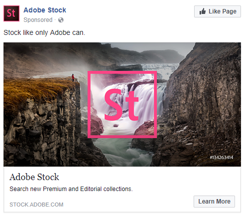 best facebook ads Adobe