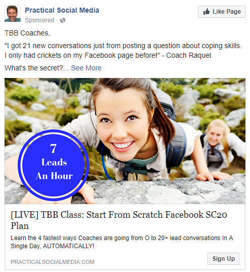 best facebook ads Practical Social Media