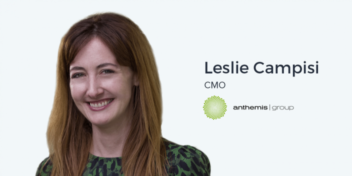 Leslie Campisi, CMO at Anthemis Group on PR, Holistic Attribution, and the Information Age