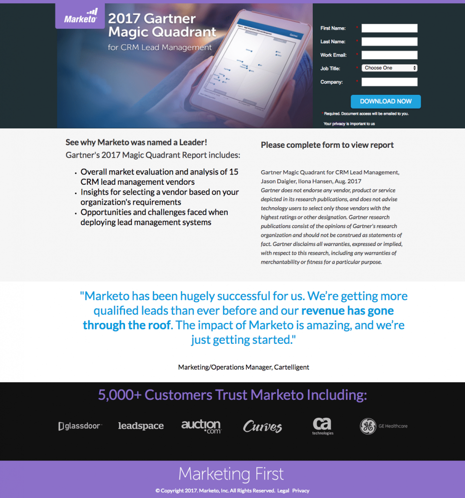 25 of the best landing page examples from top companies to inspire.