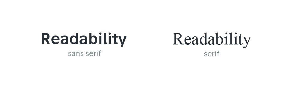 Improve Readability sans-serif