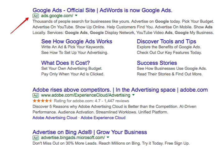 google-ads-advertisement